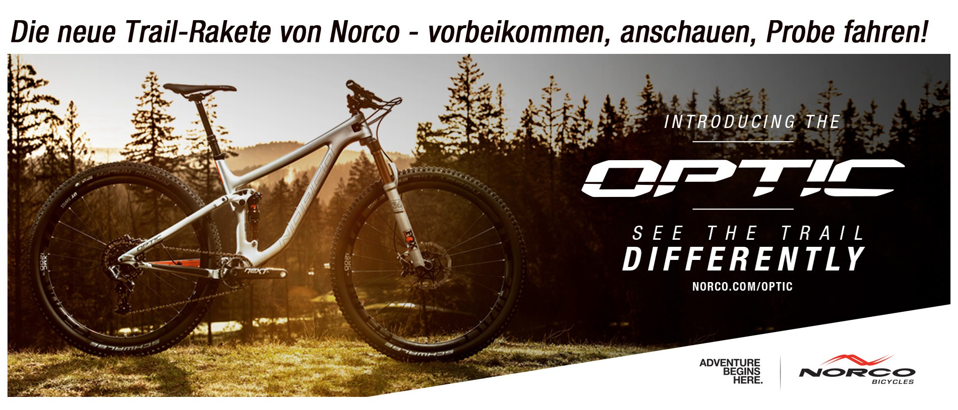 Norco Optic - see the trail differently